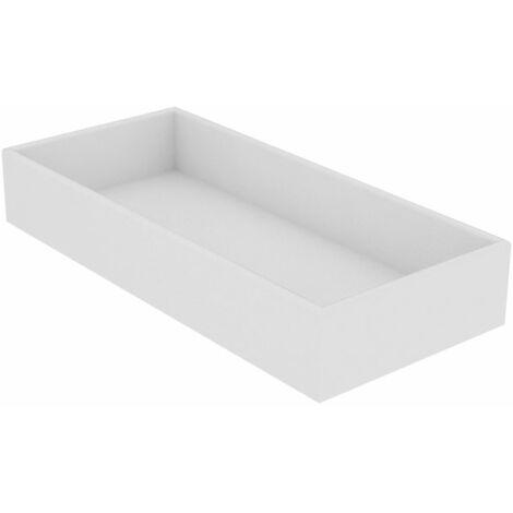 Keuco Edition 11 Caja de almacenamiento 31300, blanca, 190 x 70 x 413 mm - 31300510000