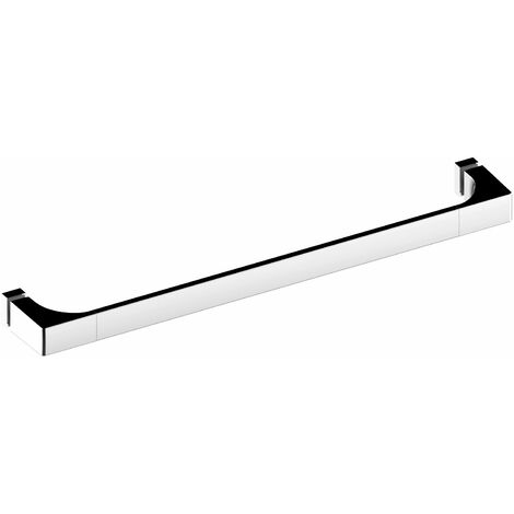 Keuco Edition 11 Poignée de porte de douche 500 mm, chromée, contre-plaques - 11108010501