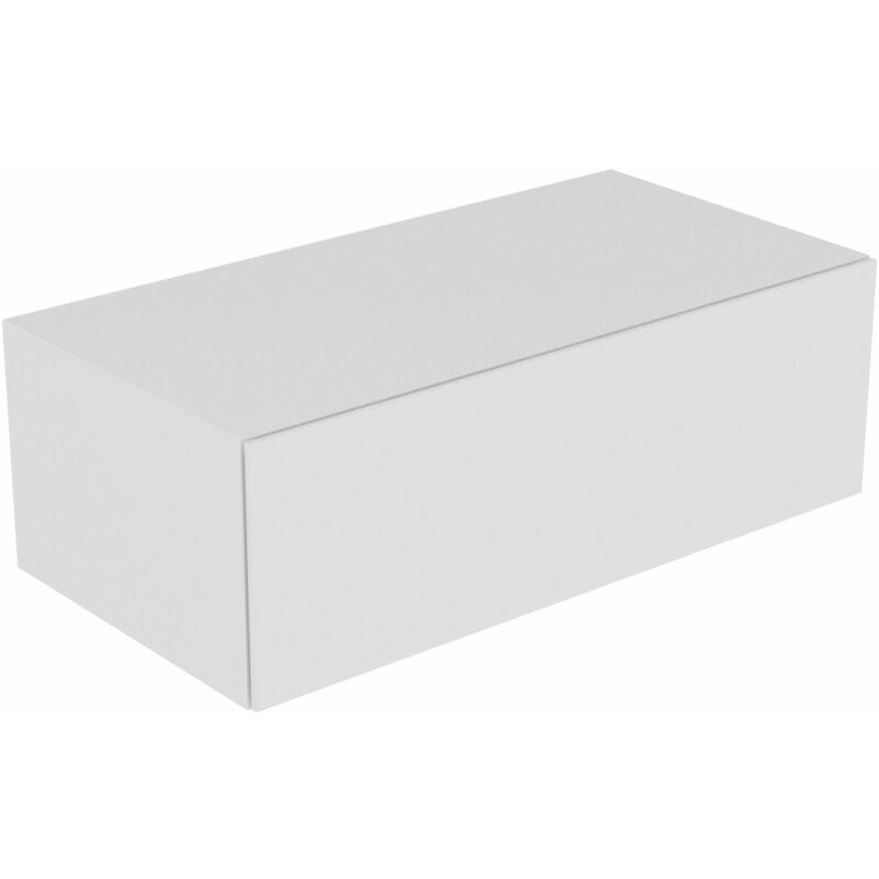 Keuco Edition 11 Sideboard 31324, 1 Frontauszug, 1050 x 350 x 535 mm, Korpus/Front: Weiß Struckturlack / Weiß Strukturlack - 31324380000