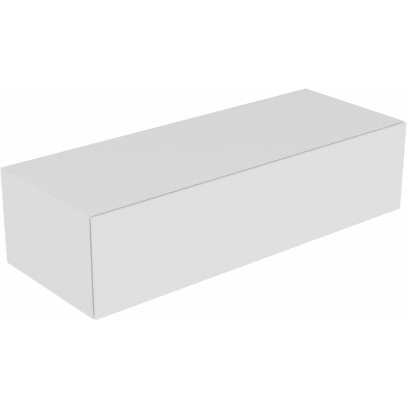 Edition 11 Sideboard 31326, 1 Frontauszug, 1400 x 350 x 535 mm, Korpus/Front: Weiß Lack Hochglanz / Weiß Lack Hochglanz - 31326210000 - Keuco