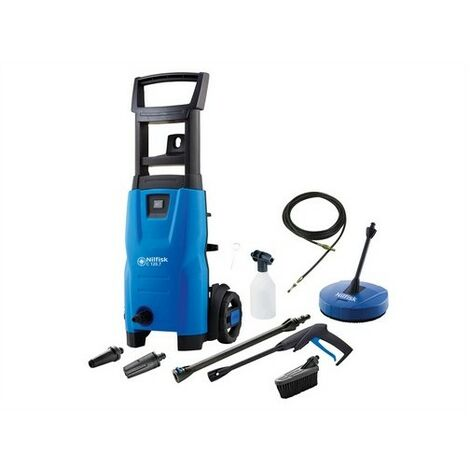 Kew Nilfisk Alto 128471014 C120 7.6 PCAD X-TRA Pressure Washer with Maintenance Kit 120 Bar 240 Volt