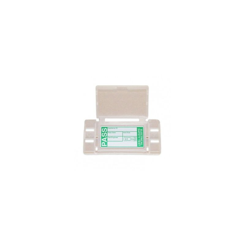 Image of KEWSNAP1 Snap Tags with Clips and PASS Labels Pack of 50 - Kewtech