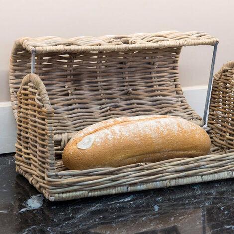 Key Largo Kubu Rattan Bread Bin