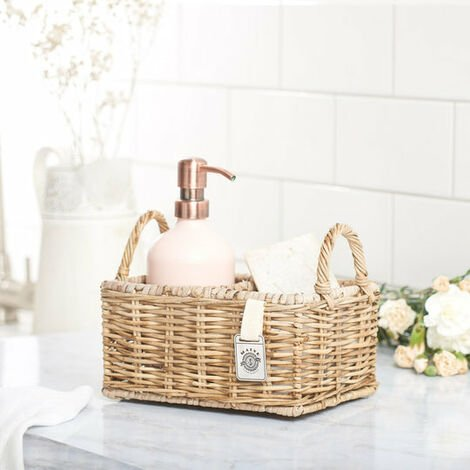 Key Largo Rattan Handwash & Cream Display Holder
