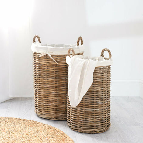 Key Largo Rattan Laundry Basket
