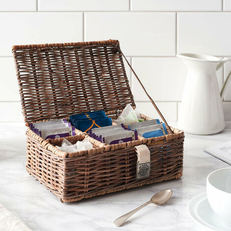 Key Largo Rattan Tea Box