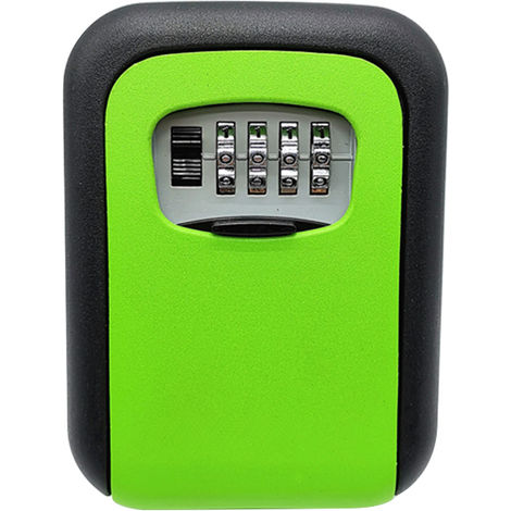 Key Storage Lock Box 4-Digit Combination Lock Box