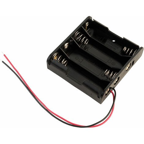 Keystone 2478 Battery holder for 4 x AA - and Flying Leads