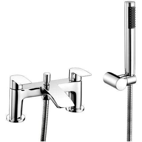 Khloe Chrome Bath Shower Mixer & Shower Kit
