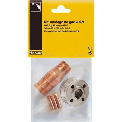 Ki de montage pour soudure sans gaz Bobine- D 0,9 - 1,0 mm