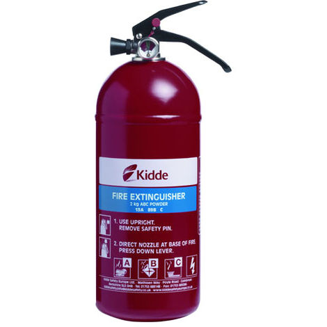 Kidde Fire Extinguisher Multi-Purpose ABC