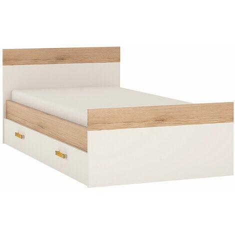 Kiddie Single Bed Under Drawer