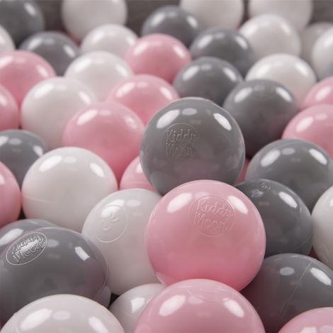 """main image of """"KiddyMoon 500/6Cm ∅ Balles Colorées Plastique Pour Piscine Enfant Bébé Fabriqué En EU"""""""