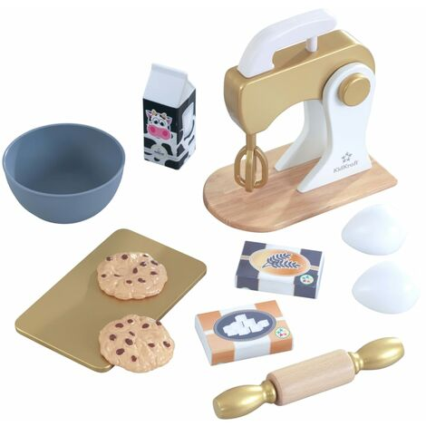 KidKraft 11 Piece Baking Set Modern Metallics
