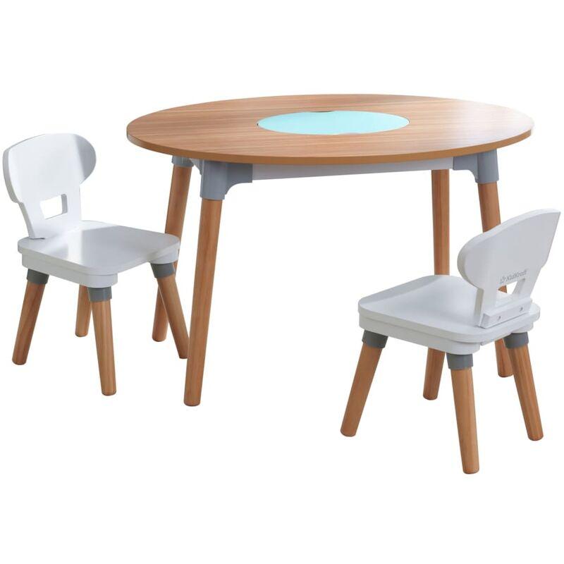 KidKraft Table pour enfants avec 2 chaises Mid Century Modern