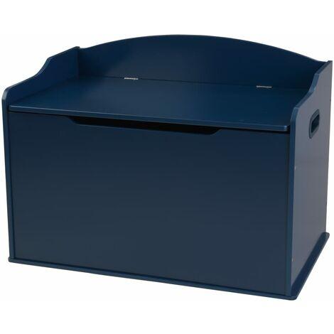 KidKraft Toy Box Austin Blueberry 76.2 x 45.72 x 53.98 cm - Blue