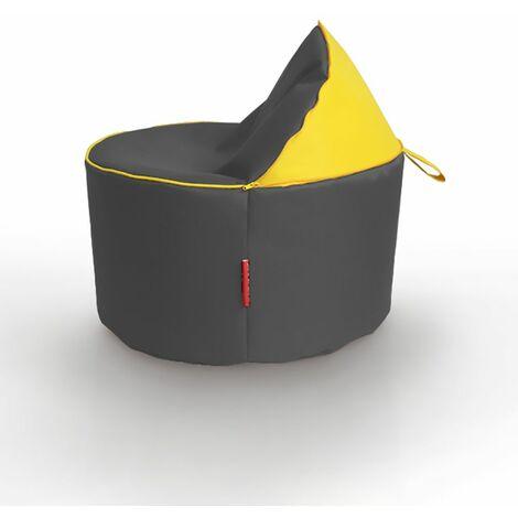 Kids 2IN1 Bean Bag Chair Seat - Yellow