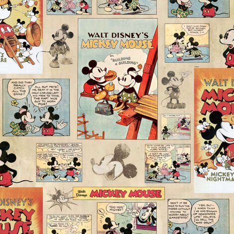 Kids At Home Wallpaper Mickey Vintage Episode