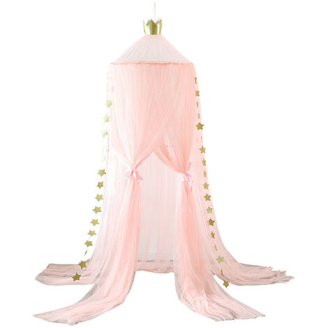 """main image of """"Kids Baby Girls Bed Canopy Mosquito Bedcover Curtain Netting"""""""