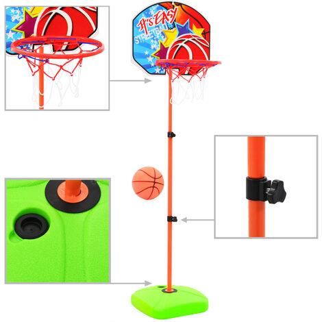 Kids' Basketball Hoop and Ball Set - Multicolour