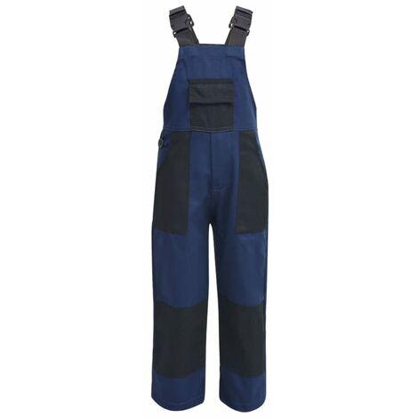 Kid's Bib Overalls Size 122/128 Blue