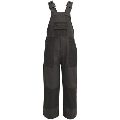 Kid's Bib Overalls Size 122/128 Grey