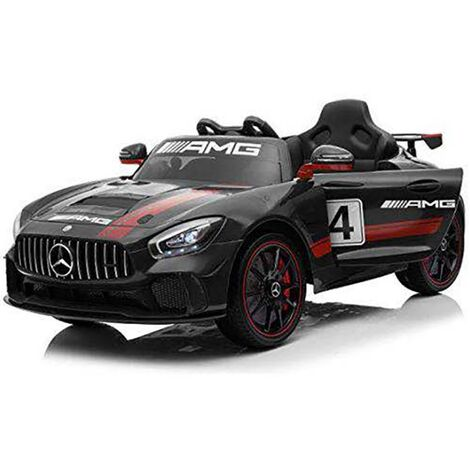 Kids Electric Ride On Mercedes GT4 AMG Black