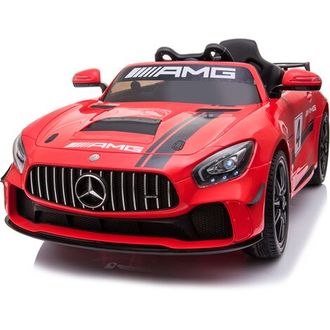 Kids Electric Ride On Mercedes GT4 AMG Red