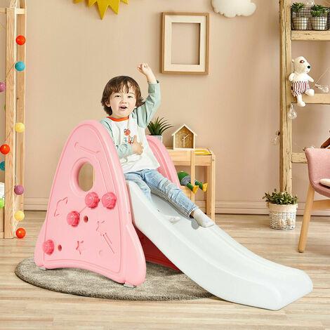 "main image of ""Kids Freestanding Slide Toddler Detachable First Slide Climbing Activity Toy"""