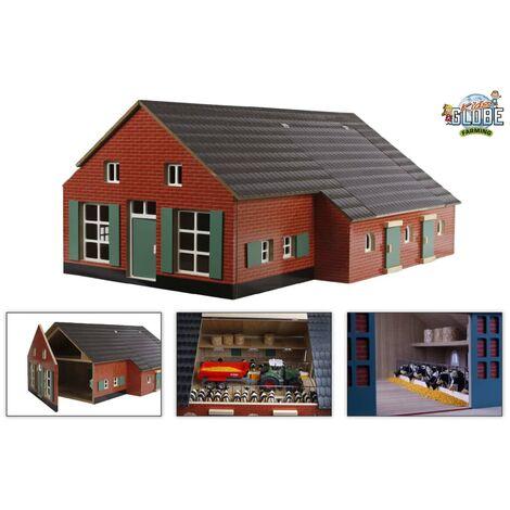 Kids Globe Farmhouse with Barn 1:32 610111 - Multicolour