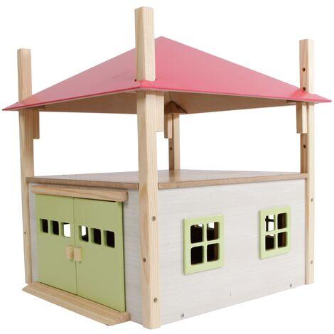 Kids Globe Hay Barn 1:32 Pink - Multicolour