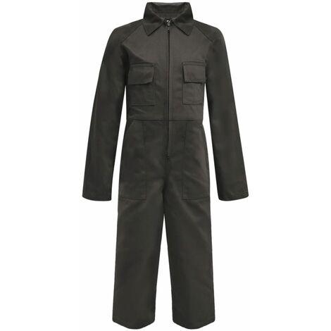 Kid's Overalls Size 110/116 Grey