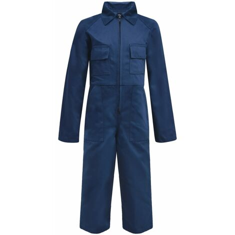 Kid's Overalls Size 122/128 Blue