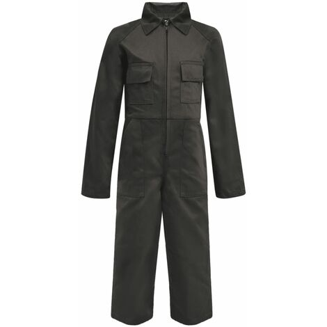 Kid's Overalls Size 122/128 Grey