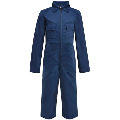 Kid's Overalls Size 134/140 Blue