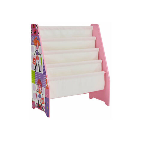 Kids Pink Book Display Fashion Theme - Pink