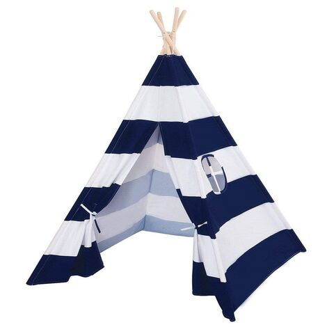 Kids Play Tent Teepee Indian Wigwam Style