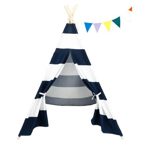 "main image of ""Kids Play Tent Teepee Indian Wigwam Style"""