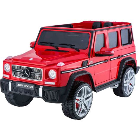 Kids Ride On Electric Car Mercedes G65 AMG Red