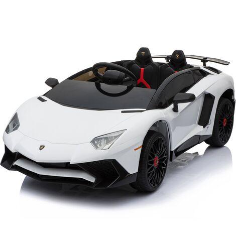 Kids Ride On Lamborghini Aventador Opening Doors White