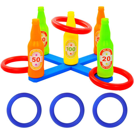 Kids' Ring Toss Game Set 42x42x23.5 cm