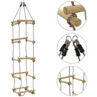 Kids Rope Ladder 200 cm Wood