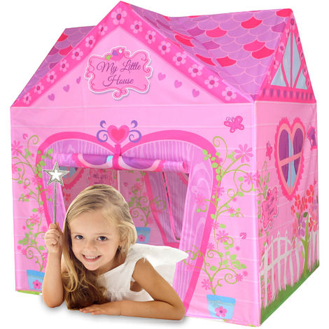 Kids - Tente de jeu My Little House - enfant - rose