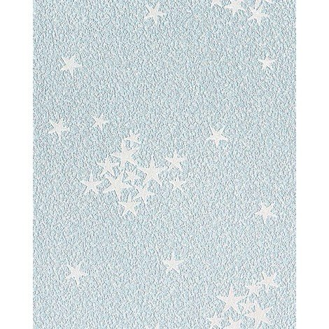 Kids vinyl wallpaper wall EDEM 533-32 luminous stars ceiling wall blue 5.33 sqm (57 sq ft)