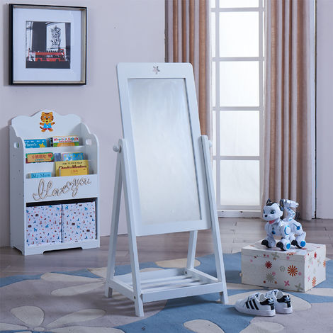 Kids White Dressing Mirror