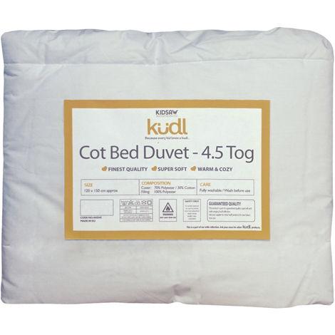 Kidsaw Kudl Kids Cotbed Duvet 4.5 Tog
