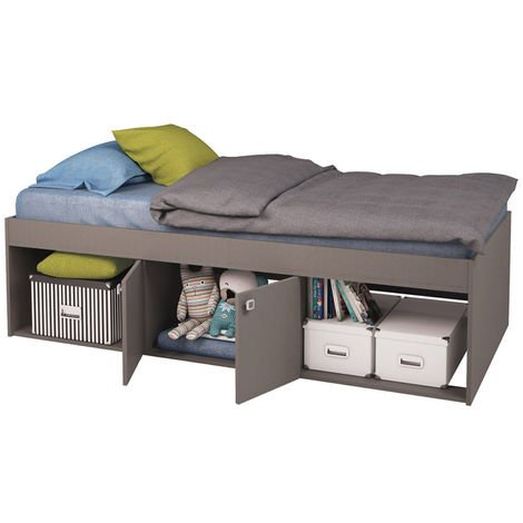 Kidsaw Low Single 3ft Cabin Bed GREY