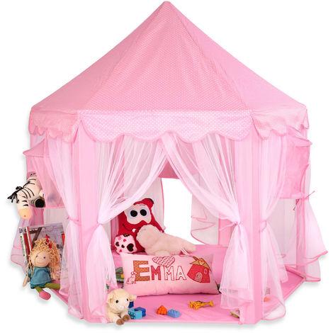 KIDUKU® Tente de jeu pour enfants Château de Princesse Tente de jeu