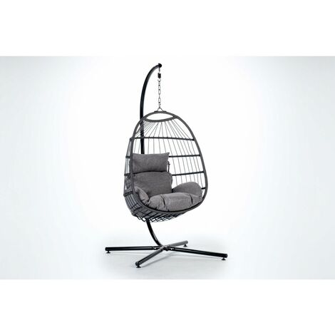 KieferGarden - Ensemble de meubles de jardin et de terrasse, 9 sièges, beige, table double, rotin synthétique, modulable