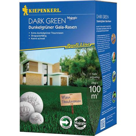 Rasensamen Samen 2 kg Kiepenkerl Profi-Line Dark Green